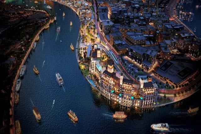 Main_Aerial_Night_Taj-Dubai